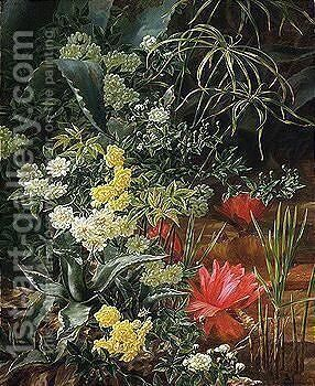 Flowers by Anthonore Christensen - Reproduction Oil Painting