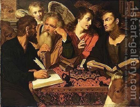 The Four Evangelists by Artus Wolffort - Reproduction Oil Painting