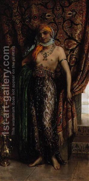 The Slave by Herbert Sidney - Reproduction Oil Painting