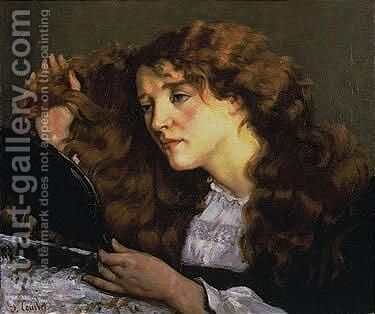 Portrait De Jo, La Belle Irlandaise by Gustave Courbet - Reproduction Oil Painting