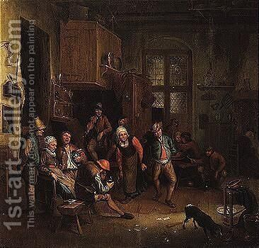 Provenance by (after) Adriaen Jansz. Van Ostade - Reproduction Oil Painting