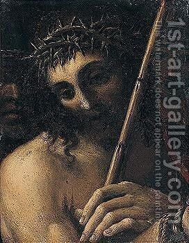Christ by (after) Annibale Carracci - Reproduction Oil Painting
