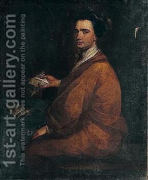 Portrait of Henry Meredyth by After) Charles Jervas - Reproduction Oil Painting