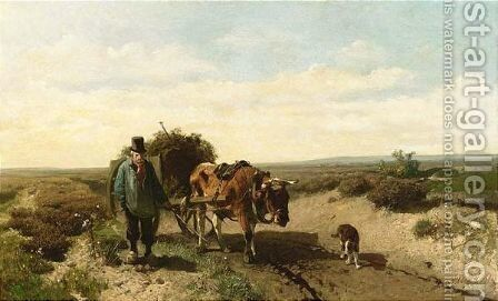 Homeward Bound 2 by Anton Mauve - Reproduction Oil Painting