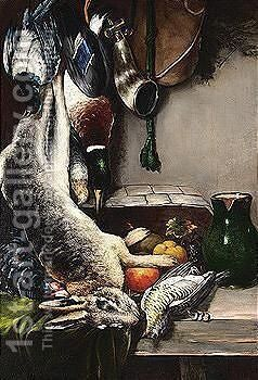 Still Life With Game by Nicholas Vokos - Reproduction Oil Painting