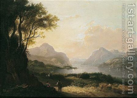 A Rest by Alexander Nasmyth - Reproduction Oil Painting