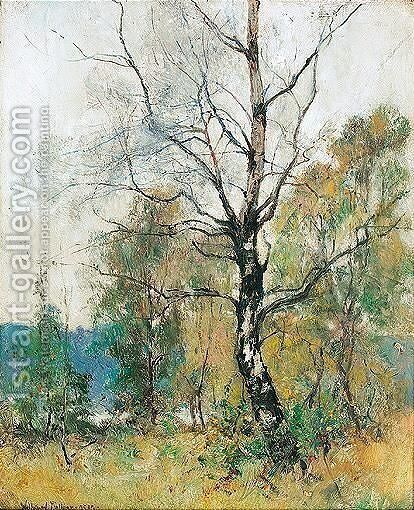 Among The Birches by Alexander William Wellwood Rattray - Reproduction Oil Painting
