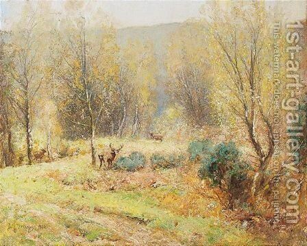Forest Solitude by David Murray - Reproduction Oil Painting