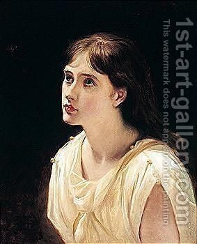 Miss Archer by James Archer - Reproduction Oil Painting