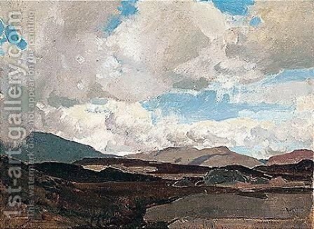 The Highlands by Harry Watson - Reproduction Oil Painting