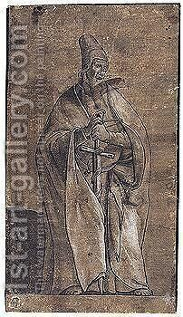 St. Paul by Hans, the Younger Holbein - Reproduction Oil Painting