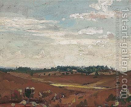Landscape With Clouds by James Dickson Innes - Reproduction Oil Painting