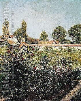 Garden 2 by Gustave Caillebotte - Reproduction Oil Painting