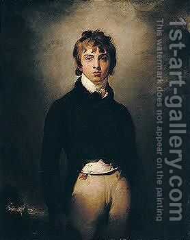 Portrait Of Andrew Reid (1783-1801) by Sir Thomas Lawrence - Reproduction Oil Painting