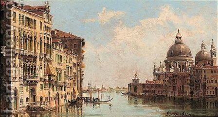 Venice by Antonietta Brandeis - Reproduction Oil Painting