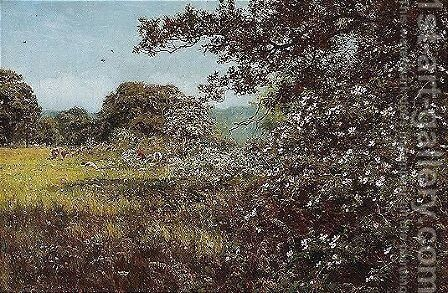 Early Summer by Edward Wilkins Waite - Reproduction Oil Painting