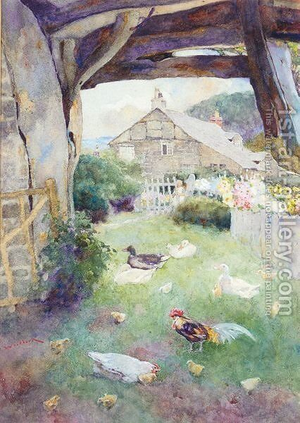 Roylance Farm by David Woodlock - Reproduction Oil Painting