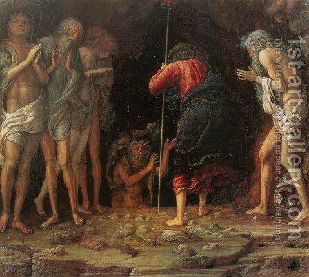 Descent Into Limbo by Andrea Mantegna - Reproduction Oil Painting