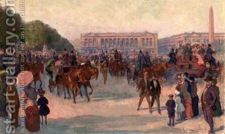 Parigi by Giovanni Lessi - Reproduction Oil Painting