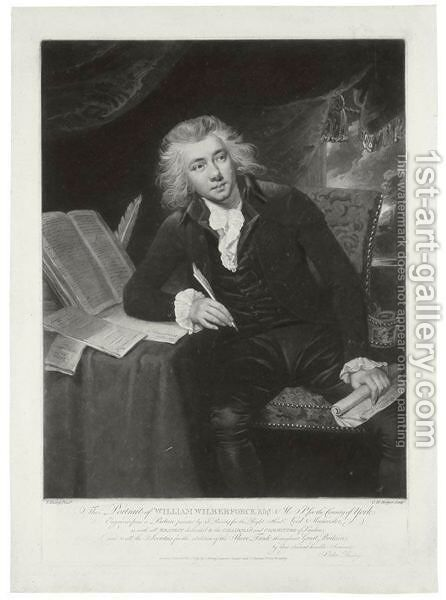 Portrait Of William Wilberforce (1759-1833) by Charles Howard Hodges - Reproduction Oil Painting