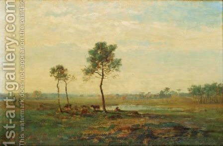 Landscape by Charles Busson - Reproduction Oil Painting