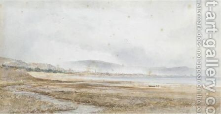 Rhossilli Bay by Alfred Edward Parkman - Reproduction Oil Painting