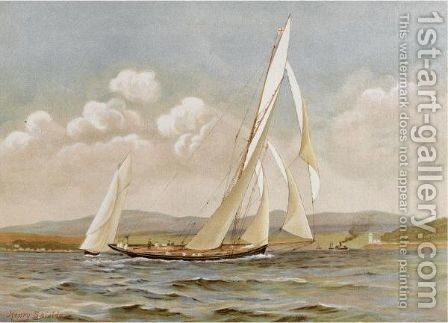 Famous clyde yachts by James Meikle - Reproduction Oil Painting