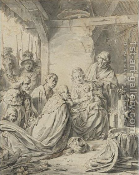 The Adoration Of The Magi by Jan De Bray - Reproduction Oil Painting