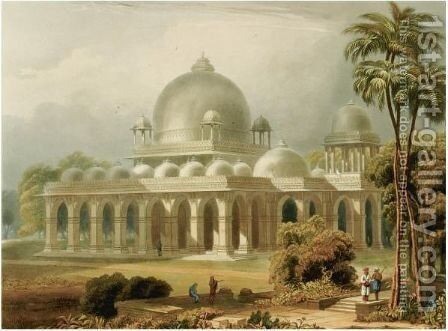 India by Grindlay Captain Robert Melville - Reproduction Oil Painting