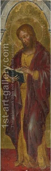 Saint Matthew by Gentile Da Fabriano - Reproduction Oil Painting