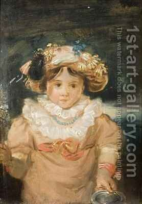 A Child by Edward Bird - Reproduction Oil Painting