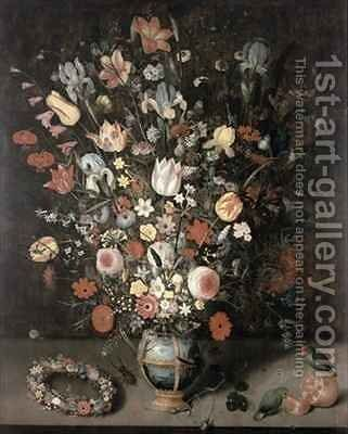 Bouquet of Flowers by Peter Binoit - Reproduction Oil Painting