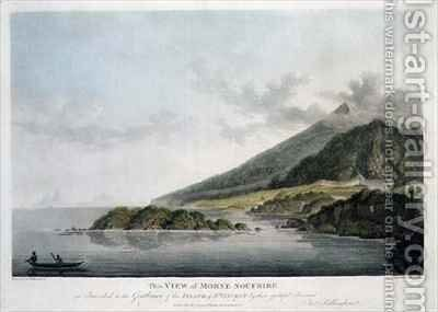 View of Morne Soufrire in the Island of St. Vincent by (after) Billinghurst, Joseph - Reproduction Oil Painting
