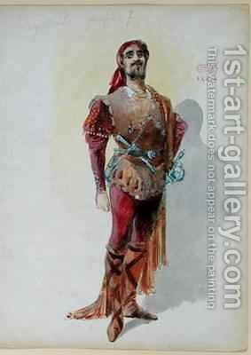 Sparafucile from 'Rigoletto' by Giuseppe Verdi by Charles Betout - Reproduction Oil Painting