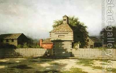 The second Fort Dearborn by Dwight Benton - Reproduction Oil Painting