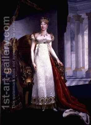 The Empress Marie-Louise (1791-1847) by Marie-Guillemine Benoist - Reproduction Oil Painting