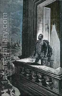 Illustration from 'Michel Strogoff' by Jules Verne by Hippolyte Leon Benett - Reproduction Oil Painting