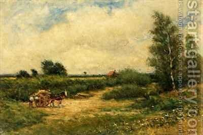 Country Scene by Arthur George Bell - Reproduction Oil Painting
