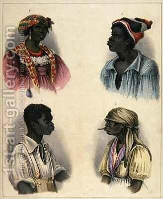 Creole Negroes by Isaac Mendes Belisario - Reproduction Oil Painting