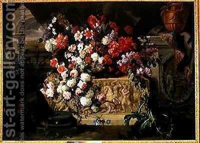 Sculpted Entablature by Isaac Mendes Belisario - Reproduction Oil Painting