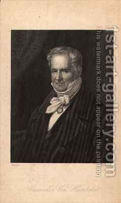 Alexander von Humboldt (1769-1859) by (after) Carl The Elder Begas - Reproduction Oil Painting