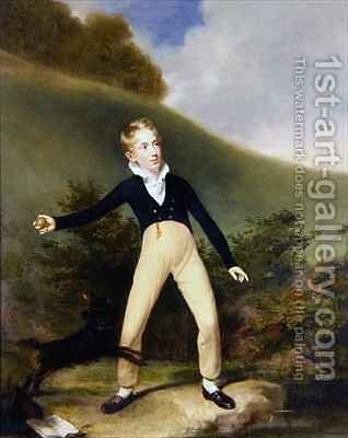 Boy with Ball by Sir William Beechey - Reproduction Oil Painting