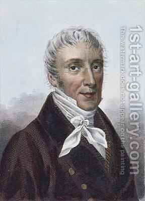 Ernst Theodor Wilhelm Hoffmann (known as Ernst Theodor Amadeus Hoffmann) by (after) Beauvoisin - Reproduction Oil Painting