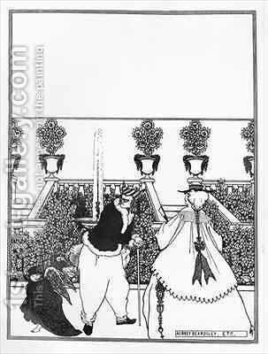 Front Cover Design for 'The Savoy' by Aubrey Vincent Beardsley - Reproduction Oil Painting