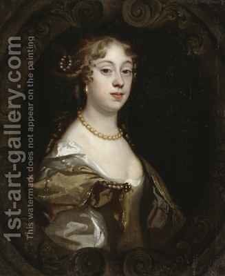 Abigail Jordan by Mary Beale - Reproduction Oil Painting