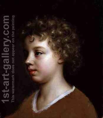 Portrait of the Artist's Son, Bartholomew Beale by Mary Beale - Reproduction Oil Painting