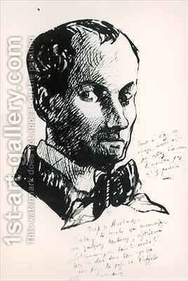 Self Portrait 2 by Charles Pierre Baudelaire - Reproduction Oil Painting