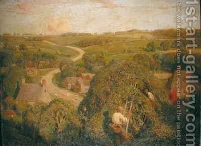 Cider Gathering by James Bateman - Reproduction Oil Painting