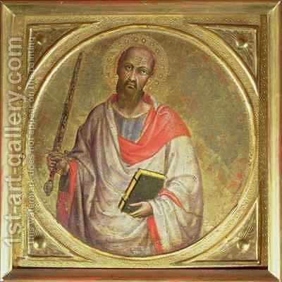St. Paul the Apostle by Martino de Bartolomeo - Reproduction Oil Painting