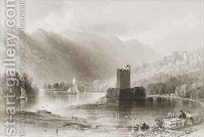 Narrow Water Castle, County Down, Northern Ireland by (after) Bartlett, William Henry - Reproduction Oil Painting